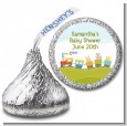 Choo Choo Train - Hershey Kiss Birthday Party Sticker Labels thumbnail