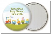 Choo Choo Train - Personalized Baby Shower Pocket Mirror Favors