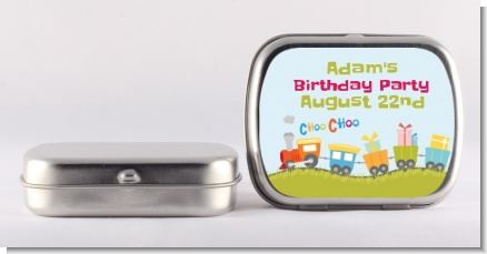 Choo Choo Train - Personalized Birthday Party Mint Tins