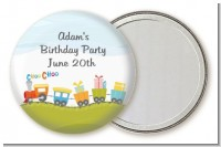Choo Choo Train - Personalized Birthday Party Pocket Mirror Favors