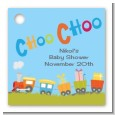 Choo Choo Train - Personalized Baby Shower Card Stock Favor Tags thumbnail