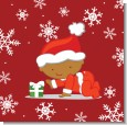 Christmas Baby Snowflakes African American thumbnail