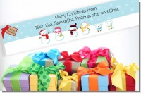 Christmas Baby Shower Banners