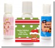 Christmas Baby African American - Personalized Christmas Lotion Favors thumbnail