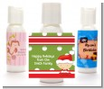 Christmas Baby Caucasian - Personalized Christmas Lotion Favors thumbnail