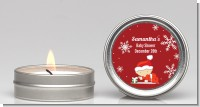 Christmas Baby Snowflakes - Baby Shower Candle Favors