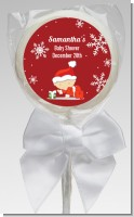 Christmas Baby Snowflakes - Personalized Baby Shower Lollipop Favors