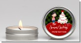 Christmas Boy - Christmas Candle Favors