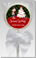 Christmas Boy - Personalized Christmas Lollipop Favors