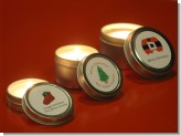 Christmas - Christmas Candle Favors