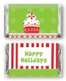 Christmas Cupcake - Personalized Christmas Mini Candy Bar Wrappers thumbnail