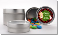 Christmas Girl - Custom Christmas Favor Tins