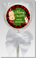 Christmas Girl - Personalized Christmas Lollipop Favors