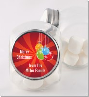 Christmas Ornaments - Personalized Christmas Candy Jar