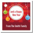 Christmas Ornaments - Personalized Christmas Card Stock Favor Tags thumbnail