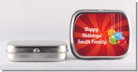 Christmas Ornaments - Personalized Christmas Mint Tins