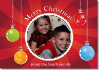 Christmas Ornaments - Personalized Photo Christmas Cards