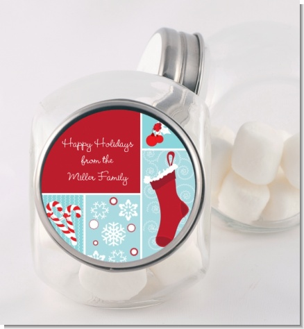 Christmas Spectacular - Personalized Christmas Candy Jar