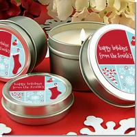 Christmas Spectacular - Christmas Candle Favors