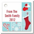 Christmas Spectacular - Personalized Christmas Card Stock Favor Tags thumbnail