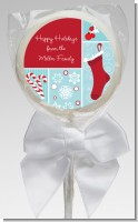 Christmas Spectacular - Personalized Christmas Lollipop Favors