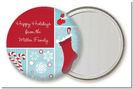 Christmas Spectacular - Personalized Christmas Pocket Mirror Favors