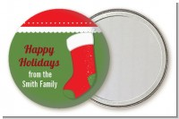 Christmas Stocking - Personalized Christmas Pocket Mirror Favors