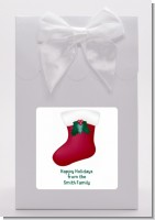 Christmas Stocking with Mistletoe - Christmas Goodie Bags