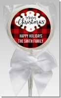 Christmas Time - Personalized Christmas Lollipop Favors
