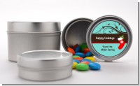 Christmas Tree and Stocking - Custom Christmas Favor Tins