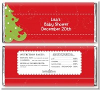 Christmas Tree - Personalized Christmas Candy Bar Wrappers