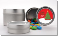 Christmas Tree - Custom Christmas Favor Tins