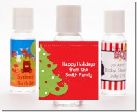 Christmas Tree - Personalized Christmas Hand Sanitizers Favors