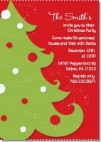 Christmas Tree - Christmas Invitations