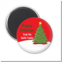 Christmas Tree - Personalized Christmas Magnet Favors