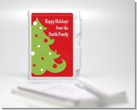 Christmas Tree - Personalized Notebook Favor