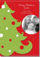 Christmas Tree - Personalized Photo Christmas Cards
