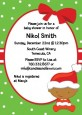 Christmas Baby African American - Baby Shower Invitations thumbnail