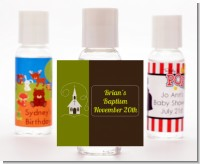 Church - Personalized Baptism / Christening Hand Sanitizers Favors