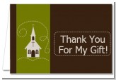 Church - Baptism / Christening Thank You Cards