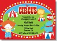 Circus - Birthday Party Invitations thumbnail