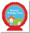 Circus - Personalized Birthday Party Centerpiece Stand thumbnail