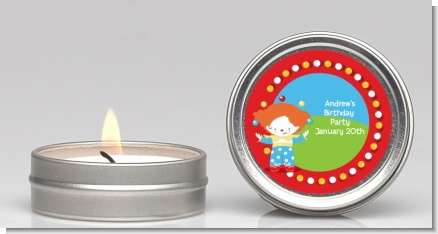 Circus Clown - Birthday Party Candle Favors