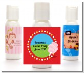 Circus Cotton Candy - Personalized Birthday Party Lotion Favors
