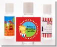 Circus Lion - Personalized Birthday Party Hand Sanitizers Favors thumbnail