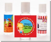 Circus Lion - Personalized Birthday Party Hand Sanitizers Favors