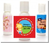 Circus Lion - Personalized Birthday Party Lotion Favors