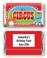 Circus - Personalized Birthday Party Mini Candy Bar Wrappers thumbnail