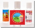 Circus Popcorn - Personalized Birthday Party Hand Sanitizers Favors thumbnail