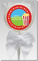 Circus Popcorn - Personalized Birthday Party Lollipop Favors
